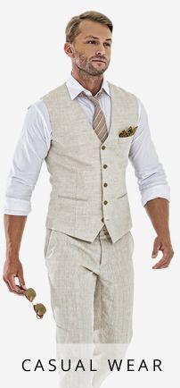 mens linen wedding suits - Google Search