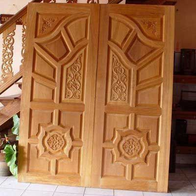 Doors panel doors and wooden door design on pinterest for Door design in pakistan
