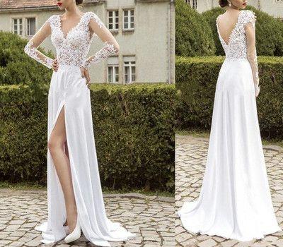 Prom Dresses,Long Sleeve Prom Dresses,Sheer Prom Dresses,V-Neck Prom Dresses,Discount Prom Dresses,Cheap Prom Dresses,Lace Prom Dresses,PD160185