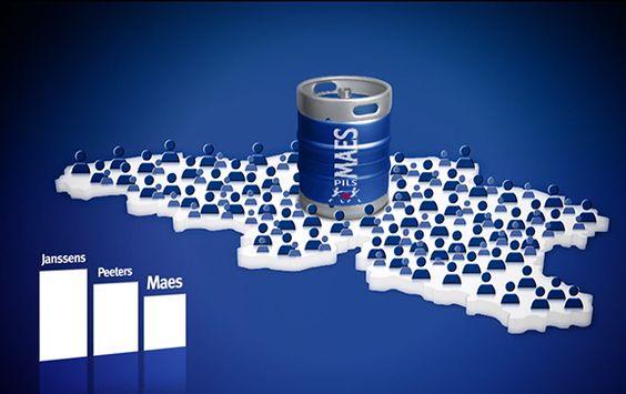 Sur Facebook, la bière belge Maes fait changer de nom les internautes