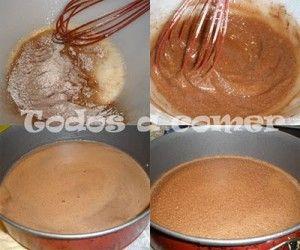 Receta: Tarta fácil de chocolate y avellanas