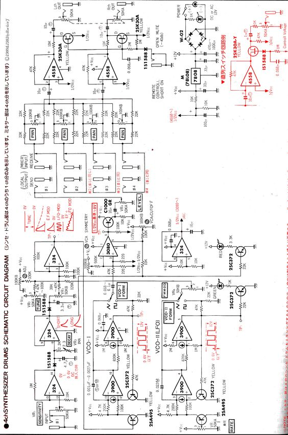 590cf58b87927bcb0c5e8147c5279970 electronic schematics drum kit drum synth schematic electronic schematics pinterest Ford Electronic Ignition Wiring Diagram at mifinder.co