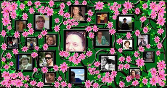 Mosaico Jardim na Floresta com 18 Amigos. Faça o seu!