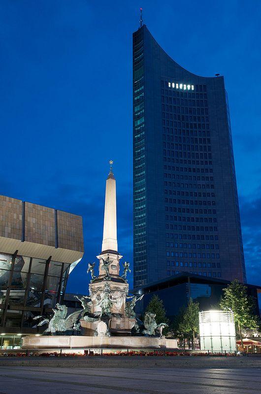 Augustus Platz, Leipzig