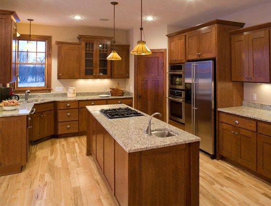The 16 Best Paint Colours To Go With Oak Or Wood Trim Floor Cabinets And More Kylie M Interiors Oak Kitchen Kitchen Flooring Honey Oak Cabinets