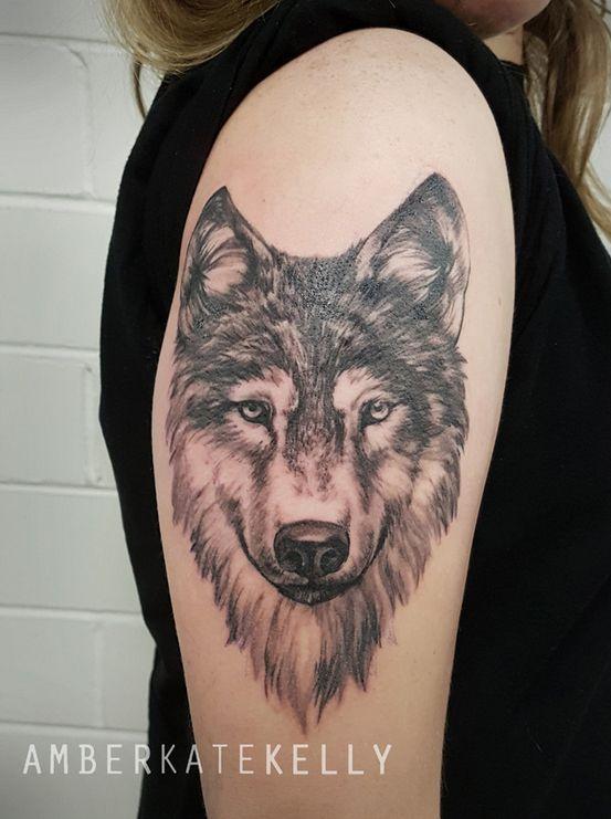 Black And Grey Wolf Tattoo Tattoo Artists Tattoos Tattoo Artists Sydney