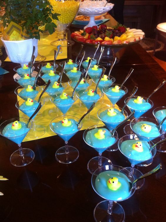 baby shower with duck theme