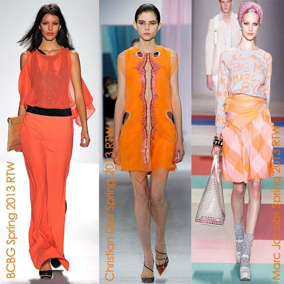 orange for spring 2013!