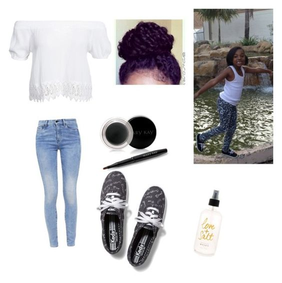 """me and Jasmine"" by zendaya090 ❤ liked on Polyvore featuring Boohoo, G-Star, Keds and Mary Kay"