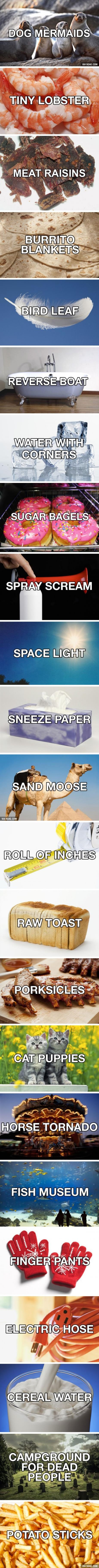 26 new and improved names for everyday things
