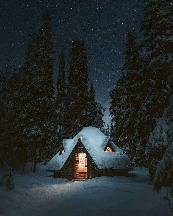 #winter #cottage