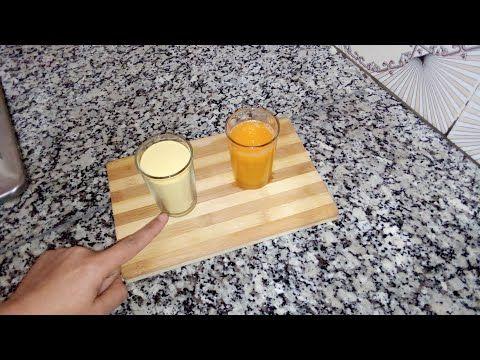 الا عندك كاس عصير برتقال وكأس سميدة جيبيهم أو اجي نحضرو وصفة رائعة Youtube