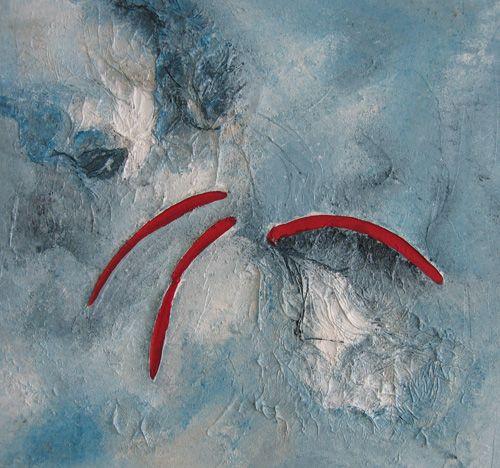 Stille und Entspannung, 50 x 50 cm. Bitte hier klicken: www.art-senger.com #malerei #kunst #art #stille