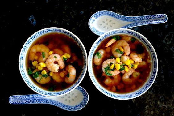 Skinny Shrimp Bowls (150 calories in 2 bowls!)