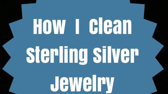How I Clean Sterling Silver Jewelry