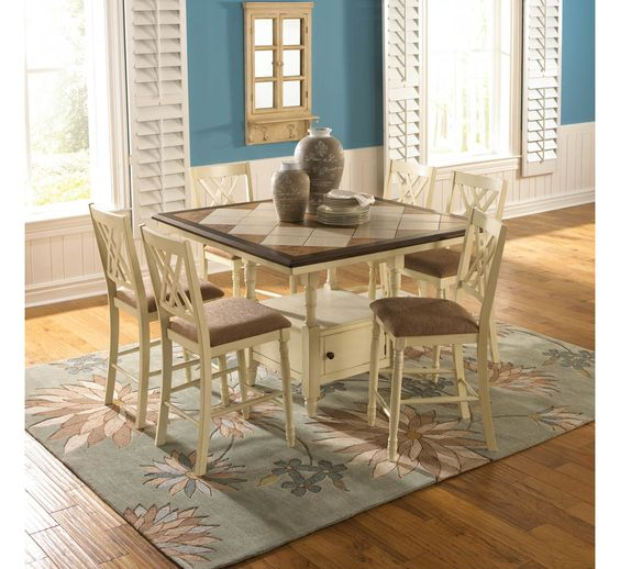 Ashleigh 5pc Dining Set Badcock More The Kitchen