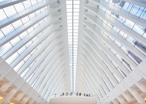 Calatrava's World Trade Center Oculus photographed by Hufton + Crow