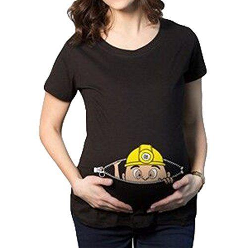 Schwangerschafts T Shirt Mit Sussen Aufdruck