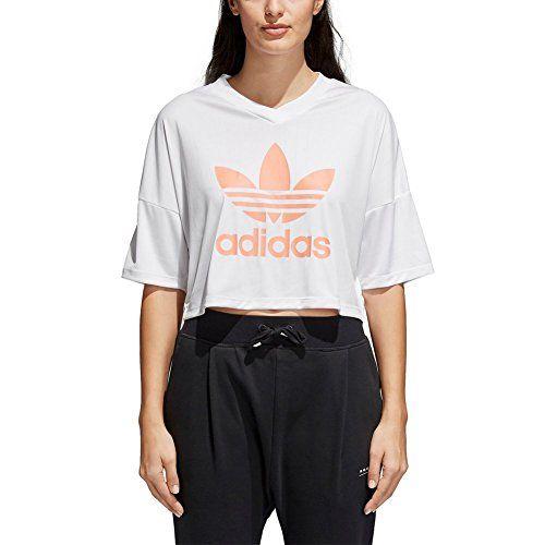 adidas t-shirt femme blanc