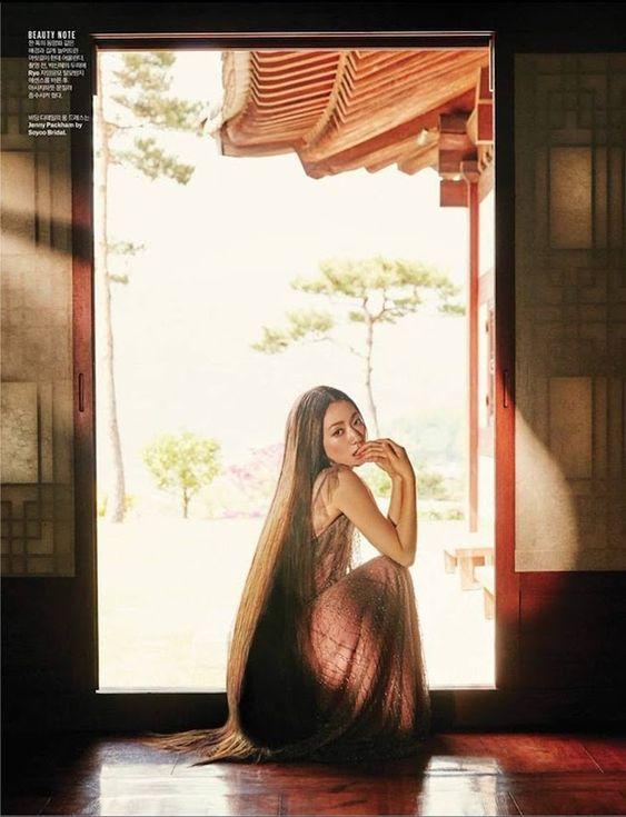 Park Shin Hye Äẹp ma má» vá»i suá»i tóc dài không tÆ°á»ng, Shin Min Ah sành Äiá»u trên tạp chí - Ảnh 12.