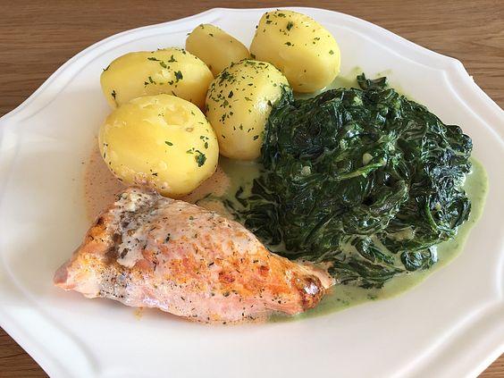Lachs - Sahne Gratin, ein raffiniertes Rezept aus der Kategorie Fisch. Bewertungen: 354. Durchschnitt: Ø 4,6.
