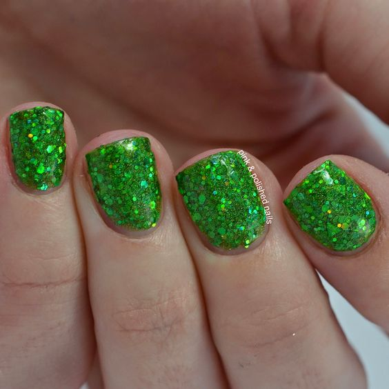 The Little LacquerBean Holiday Sparkle Collection Swatches