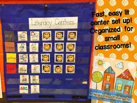 Kindergarten Calendar Center : Tiny classroom literacy center organization a