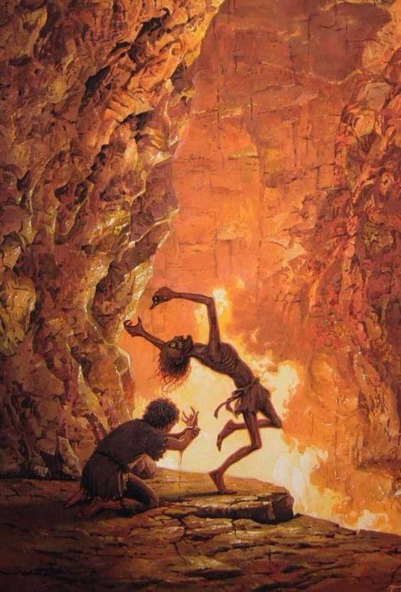 Tolkien Inspired Art - Imgur #tolkien #jrrtolkien #lordoftherings #fantasy #illustration #painting #art