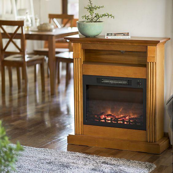 Recco chimenea el ctrica mueble productos - Mueble para chimenea electrica ...