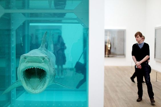 Death becomes him: Damien Hirst at Tate Modern – in pictures