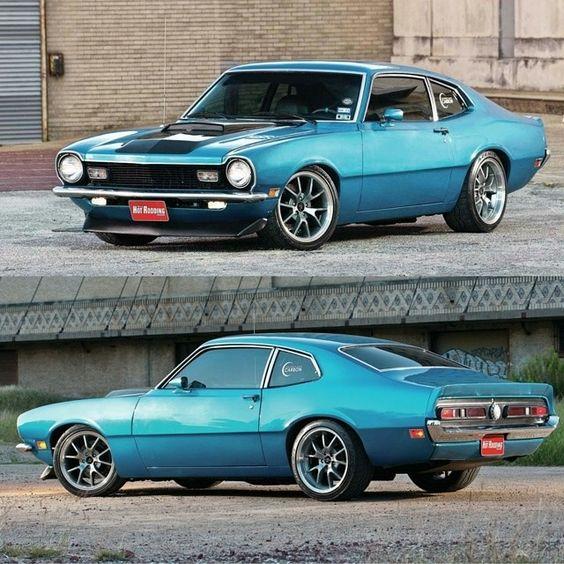 1970 Ford Maverick.