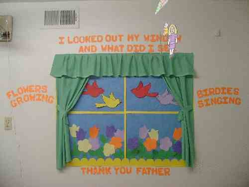 Window Decoration Ideas For Classroom : Window for the and toddlers on pinterest