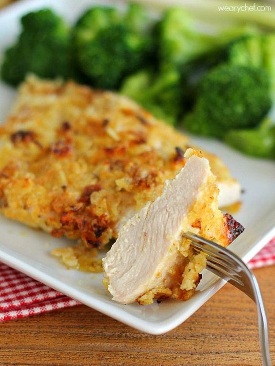 Sour Cream and Onion Potato Chip Chicken - This easy, baked chicken ...