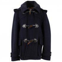 AQUASCUTUM Duffle Coat Navy http://www.designerchildrenswear.com