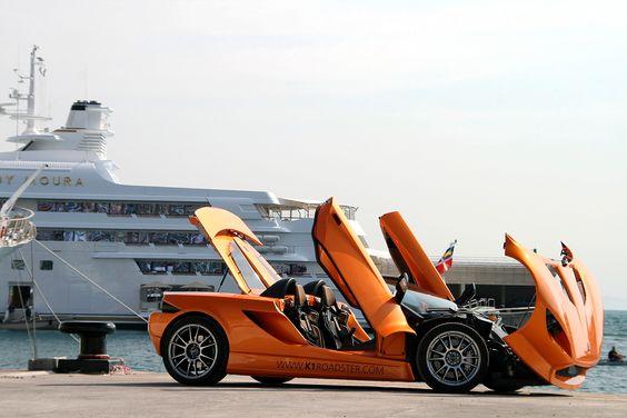 """Ultraleggera HLT 17""""(front) and 18""""(rear) on K1 Roadster #OZRACING #ULTRALEGGERA #HLT #RIM #WHEEL"""