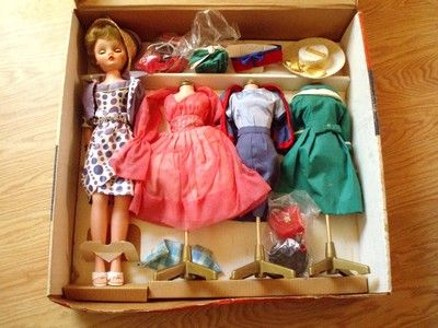 Vintage 1960's Deluxe Reading Candy Fashion Doll Dress Set in Original Box |