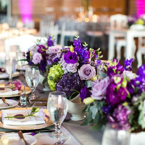 Purple table, Purple and Decor on Pinterest