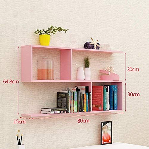 Dttx Bookshelf Wall Hanging Bookshelf Ledge Partition Wall
