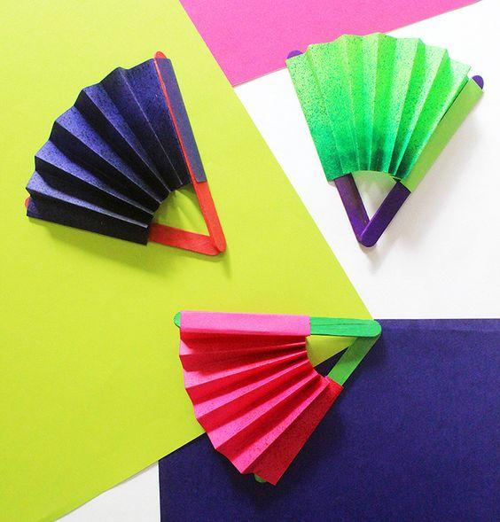 Renkli Ve Güzel Yelpazeler  2