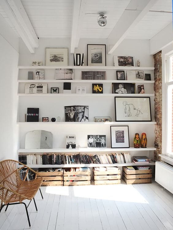 Trendy Home Decor Shelves