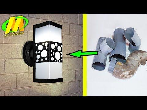 Usaha Menjanjikan Lampu Dinding Dari Pvc Youtube Luminarias
