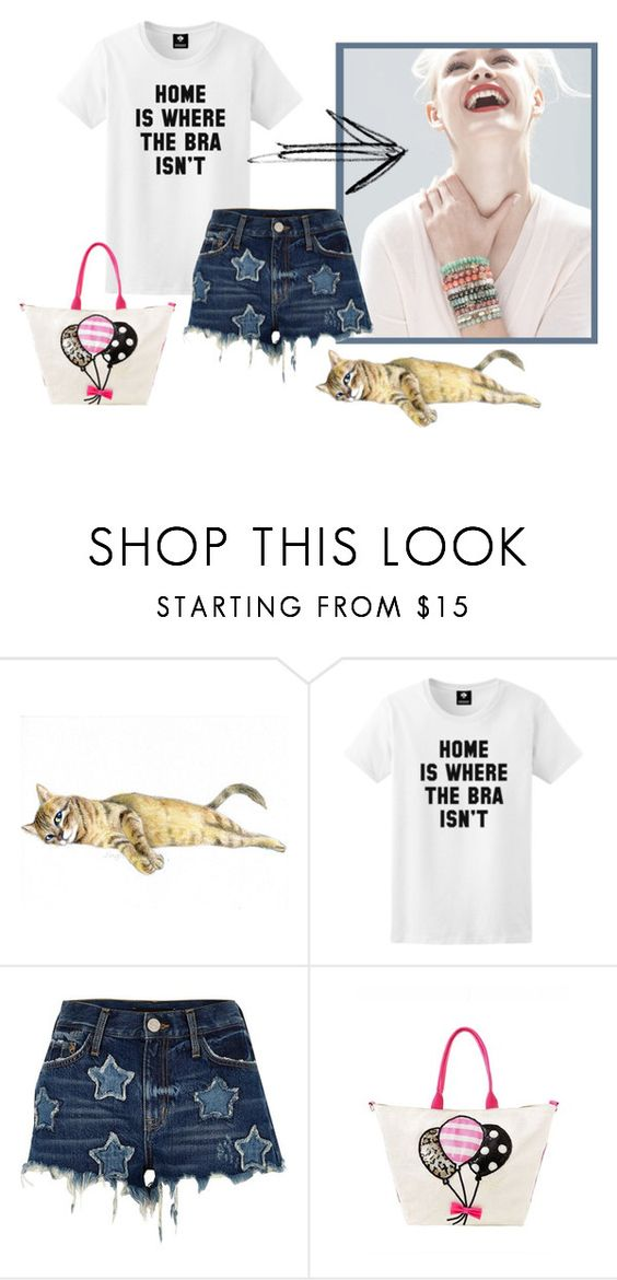 """""""funny observer"""" by sheena-malabar ❤ liked on Polyvore featuring GINTA, River Island and Betsey Johnson"""