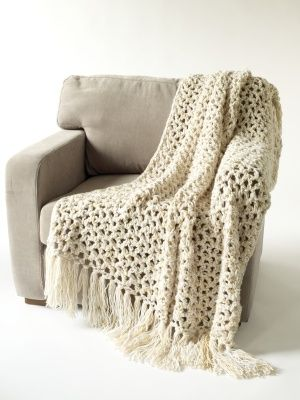 Free Crochet Pattern: 5 1/2 Hour Throw