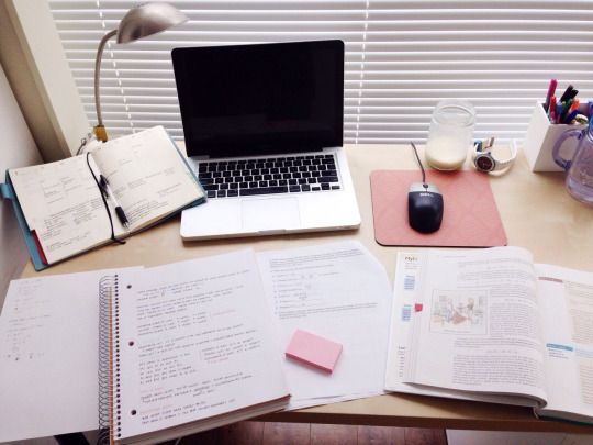 Study homework