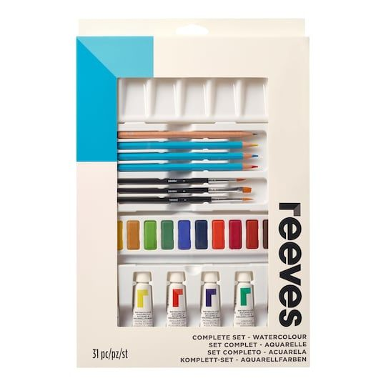 Reeves Complete Watercolor Art Set Paint Michaels In 2020