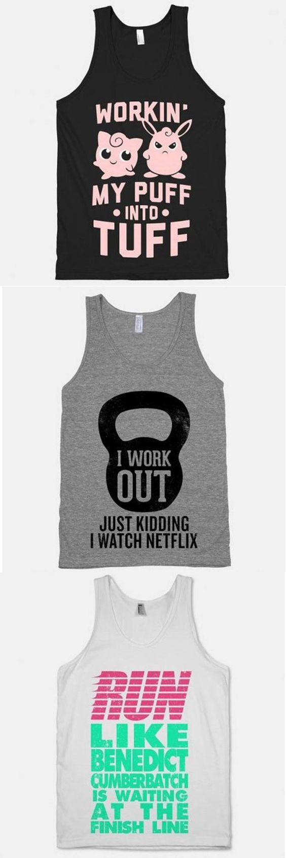 i need these work out shirts!!