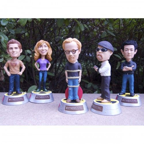 MythBusters All 5 Hosts Bobblehead Set  I will also be searching for these used/waaaaaaaay cheaper.