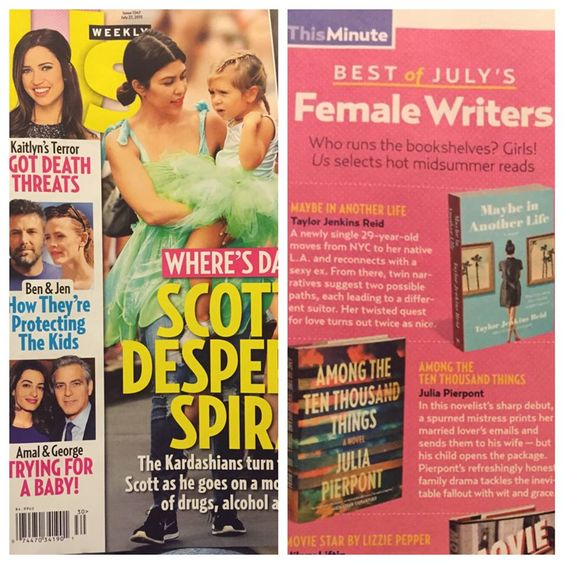#MaybeInAnotherLife hanging out in the pages of US Weekly!