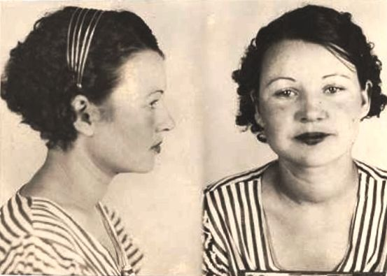 RARE BILLIE PARKER MUGSHOT | Halloween Ideas | Pinterest ...