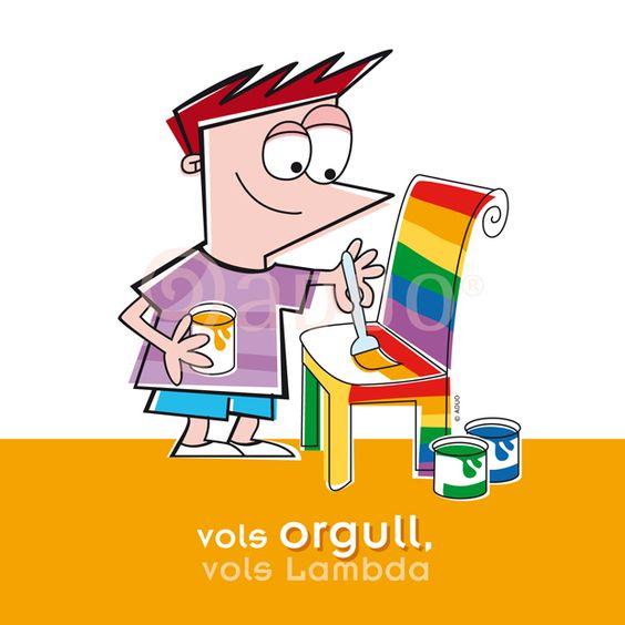 "Campaña ""Vols sumar-te"", Colectivo Lambda Valencia. Orgullo-LGTB"